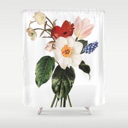 Spring Flowers Bouquet Shower Curtain