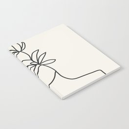 Abstract Minimal Woman I Notebook