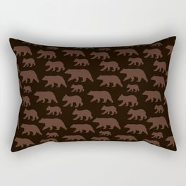 Cute Mama Baby Bear Animal Lover Mother Day Women  Rectangular Pillow