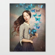 Set Your Heart Free Canvas Print