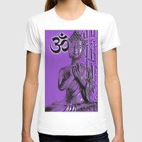 om T-shirts featuring OM by Enri-Art