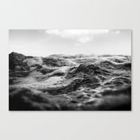 salt water Canvas Prints featuring Salt Water by Andre Joaquim