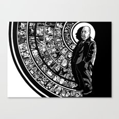 alfred hitchcock presents... Canvas Print