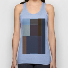 Geometric Abstract Unisex Tank Top