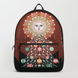 Christmas Tree by ©2018 Balbusso Twins Backpack