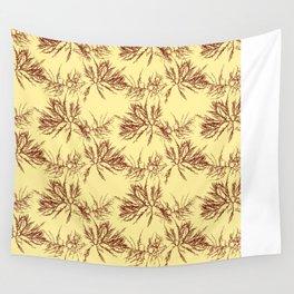 Ocean Plant Pattern Wall Tapestry