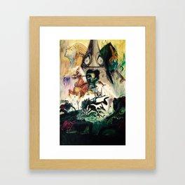 Link of twilight Framed Art Print