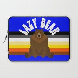 Lazy Bear flag gay bear pride lgbt bears osos gay  Laptop Sleeve