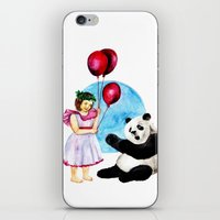 balloons iPhone & iPod Skins featuring Balloons by Anna Shell