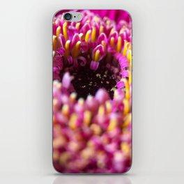 flower macro iPhone Skin