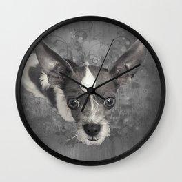 LiAM (puffy cloud) Wall Clock