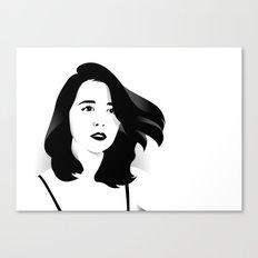 a woman Canvas Print