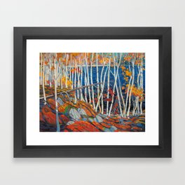 In The Northland (Group Of Seven) by Tom Thomson Canadian Landscape Art Framed Art Print