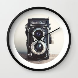 ROLLEIFLEX CAMERA Wall Clock