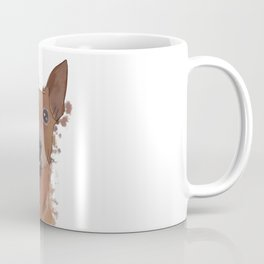 Miniature pinscher, watercolor portrait  Coffee Mug