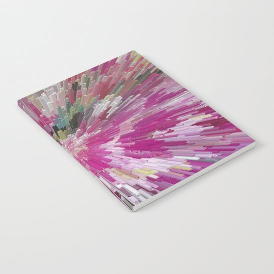Abstract flower pattern 3 Notebook