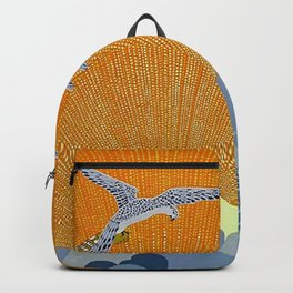 """Wings of Victory"" Art Deco Design Backpack"