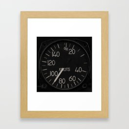 90 Knots Framed Art Print