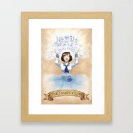 The Lamb's Vision Framed Art Print