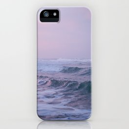 Sunset in the Caribbean Sea of Costa Rica iPhone Case
