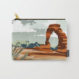 DELICATE ARCH MOAB UTAH Carry-All Pouch