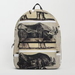 Picasso Bulls Backpack