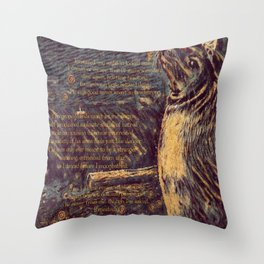 Sealskin Soulskin Throw Pillow