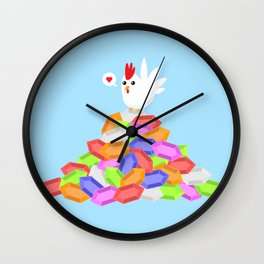 Rich Cucco Wall Clock