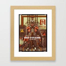 RED COCAINE Framed Art Print