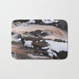 Ruby Winter Falls Bath Mat