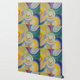 "Robert Delaunay ""Colored Discs"" Wallpaper"