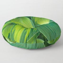 Hosta Camouflage Floor Pillow