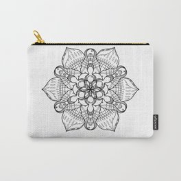 Symmetrical Sea, Lineart Only Carry-All Pouch
