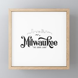 Milwaukee Framed Mini Art Print