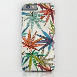 boho weed light iPhone Case