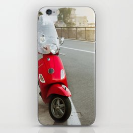 Italy - Red Vespa iPhone Skin