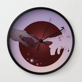 Everything is Illuminated Wall Clock