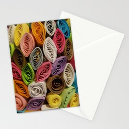 Colorful Quilled Paper Art by Daniel MacGregor Stationery Cards