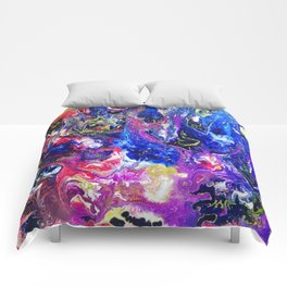 Fluid Color Comforters