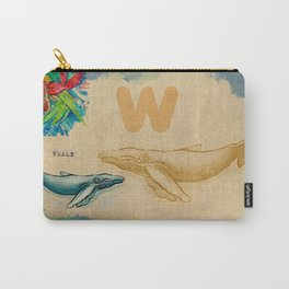 English alphabet , Whale Carry-All Pouch