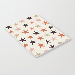 Star Pattern Color Notebook
