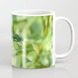 Damselfly's Mating Coffee Mug