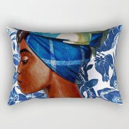 Turban lady Rectangular Pillow