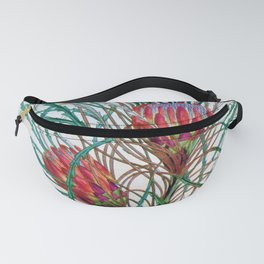 A Protea flower Fanny Pack