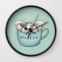 Moffee Wall Clock