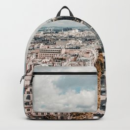 Paris France Cityscape (Color) Backpack