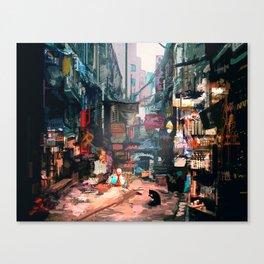 Walls to Tear Down Canvas Print