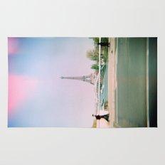 Paris Holga: Eiffel Tower Rug