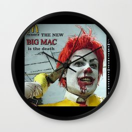 Ronald Mcdonald Wall Clock