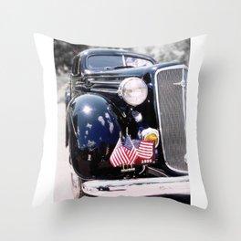 Style car photography Throw Pillow